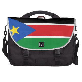 Bandera del sur de Sudán Bolsas Para Ordenador