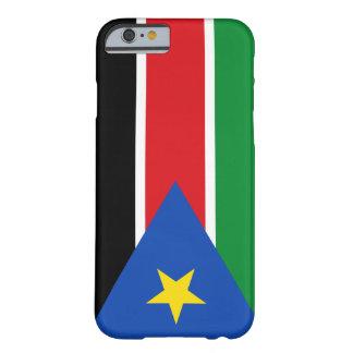 Bandera del sur de Sudán Funda De iPhone 6 Barely There