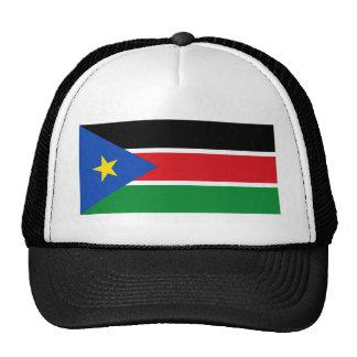 bandera del sur de Sudán Gorras