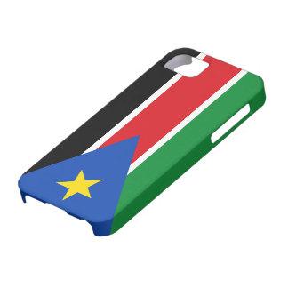 Bandera del sur de Sudán iPhone 5 Case-Mate Fundas