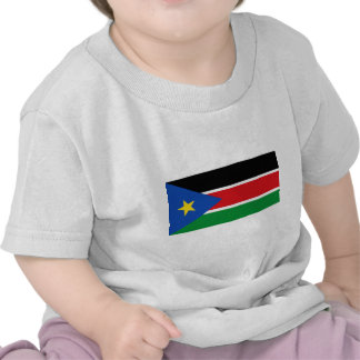 Bandera del sur de Sudán Camisetas