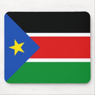Bandera del sur Mousepad de Sudán Tapetes De Ratón