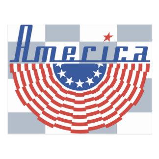 Bandera del Swag de América Postales