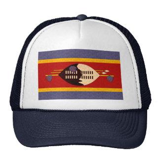 Bandera del Swazi del modelo del vintage Gorro De Camionero