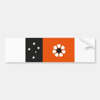 Bandera del Territorio del Norte de Australia país Pegatina Para Auto
