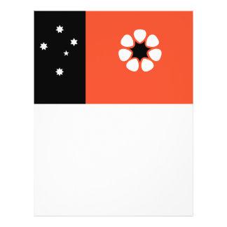 "Bandera del Territorio del Norte Folleto 8.5"" X 11"""