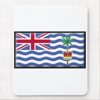 Bandera del territorio del Océano Índico británico Alfombrillas De Ratones