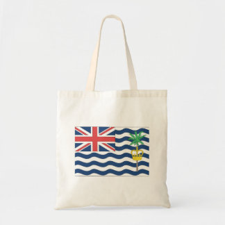Bandera del territorio del Océano Índico británico Bolsa Tela Barata