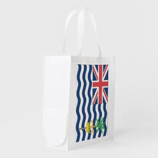 Bandera del territorio del Océano Índico británico Bolsas De La Compra