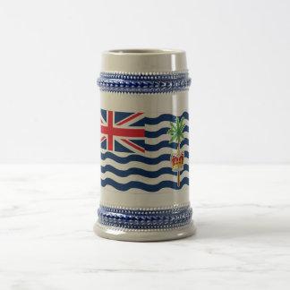 Bandera del territorio del Océano Índico británico Jarra De Cerveza