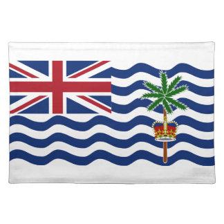 Bandera del territorio del Océano Índico británico Manteles Individuales