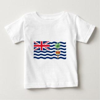 Bandera del territorio del Océano Índico británico Playera De Bebé