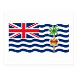 Bandera del territorio del Océano Índico británico Postal