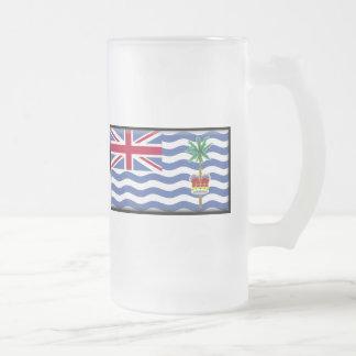 Bandera del territorio del Océano Índico británico Taza De Cristal