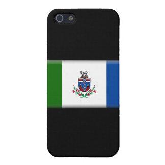 Bandera del territorio del Yukón iPhone 5 Protector