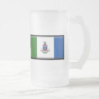 Bandera del territorio del Yukón Taza De Café