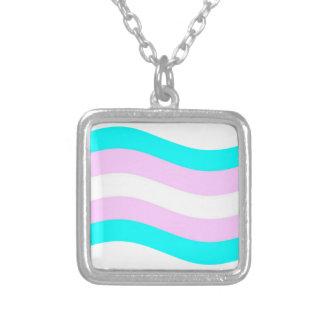 Bandera del transexual que agita joyerias
