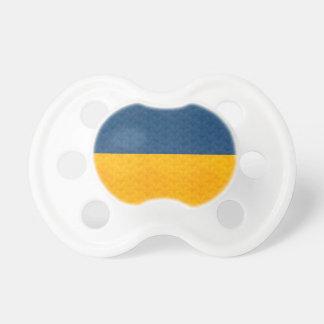 Bandera del ucraniano del modelo del vintage chupete de bebe
