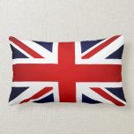 bandera del Union Jack - Gran Bretaña Británicos U Cojin