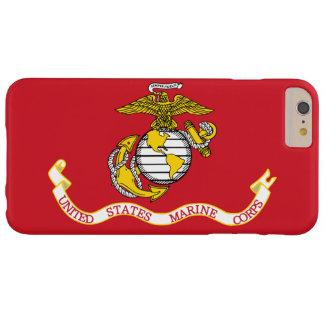 Bandera del USMC Funda De iPhone 6 Plus Barely There