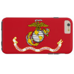 Bandera del USMC Funda Resistente iPhone 6 Plus