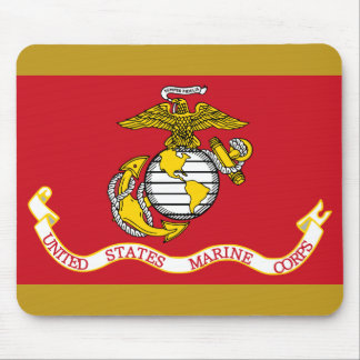 Bandera del USMC Mousepad