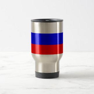 Bandera del viaje de Rusia/de la taza del viajero