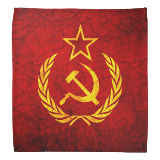 Bandera del vintage CCCP Bandana