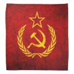 Bandera del vintage CCCP Bandanas