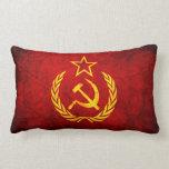 Bandera del vintage CCCP Cojin