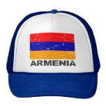 Bandera del vintage de Armenia Gorro