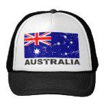Bandera del vintage de Australia Gorro De Camionero