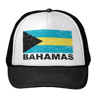 Bandera del vintage de Bahamas Gorras De Camionero