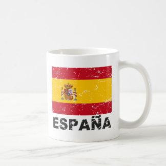 Bandera del vintage de España Taza Clásica