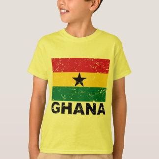 Bandera del vintage de Ghana Remeras