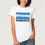 Bandera del vintage de Honduras Playera