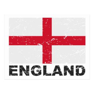 Bandera del vintage de Inglaterra Postal