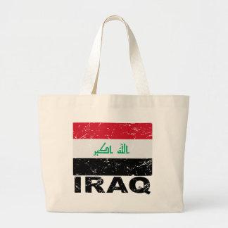 Bandera del vintage de Iraq Bolsa