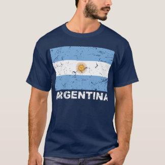 Bandera del vintage de la Argentina Playera