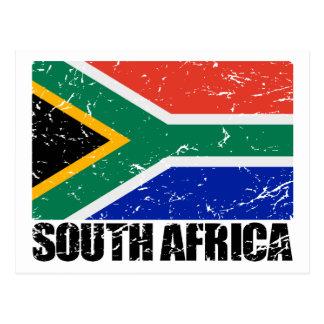 Bandera del vintage de Suráfrica Postal
