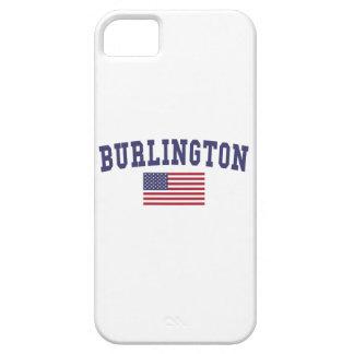 Bandera del VT los E.E.U.U. de Burlington Funda Para iPhone SE/5/5s