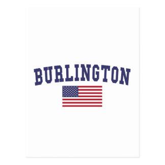 Bandera del VT los E.E.U.U. de Burlington Postal