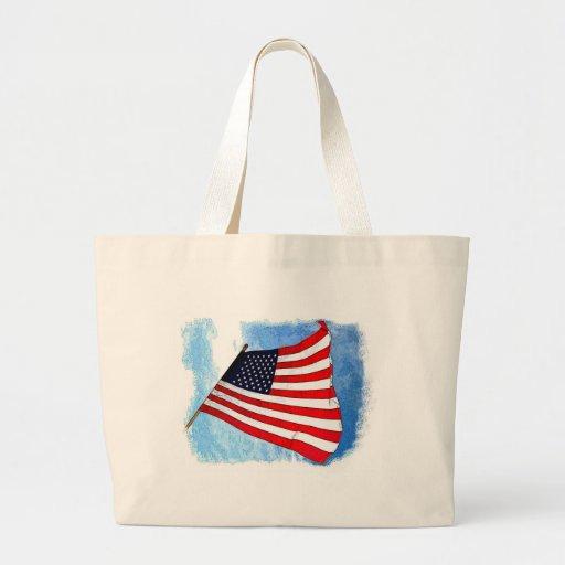 Bandera del vuelo bolsa
