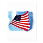 Bandera del vuelo postal