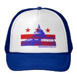 Bandera del Washington DC Gorro De Camionero