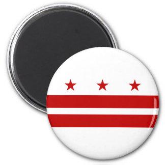 Bandera del Washington DC Imán Para Frigorífico