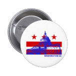 Bandera del Washington DC Pin