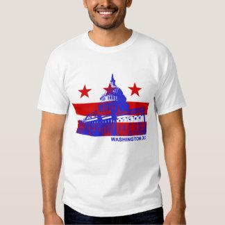Bandera del Washington DC Playeras