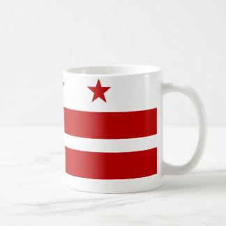 Bandera del Washington DC Taza
