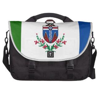 Bandera del Yukón (Canadá) Bolsa Para Ordenador
